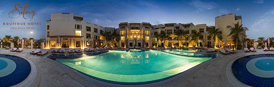 Sifawy Boutique Hotel - Jebel Sifah / UMMAN